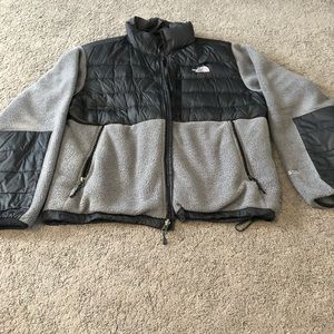 The North Face Mens Charcoal / Black Jacket Size L